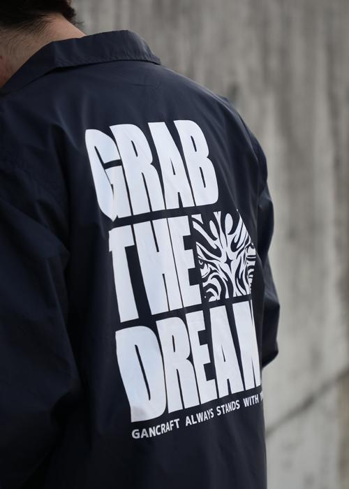 GRAB THE DREAMコーチJKT【Black】