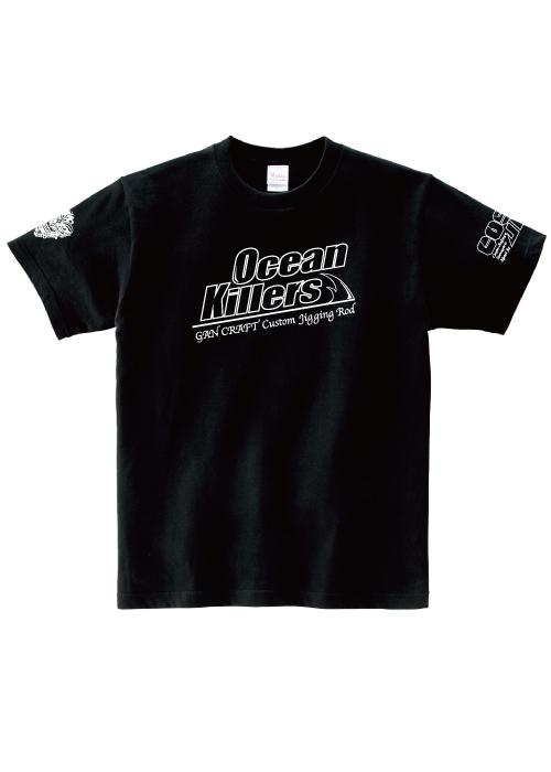 Ocean Killers x CosoJig  T-Shirt【Black】