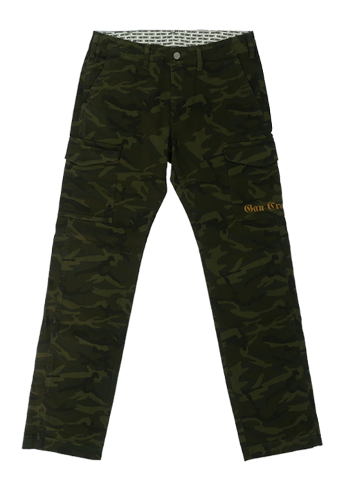 CamoStretchCargoPants ( Green )