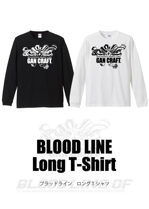BLOOD LINE ロングTシャツ