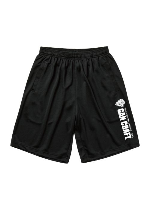 GANCRAFT DRY Short Pants【Black】