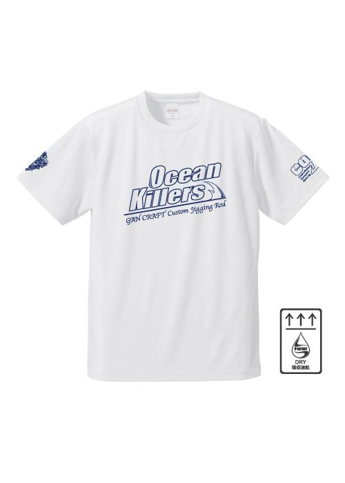 Ocean Killers x CosoJig Dry T-Shirt【White】