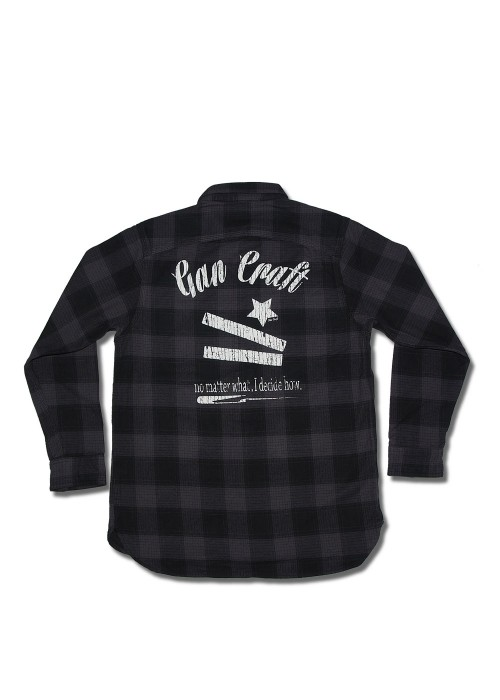 LUCKY LIP Long sleeve flannel shirt