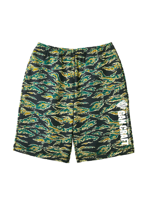 GANCRAFT Sweat Short Pants 【Tiger Camo】
